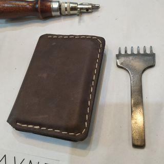 Mini Wallet Dompet Kulit Handmade Card Holder