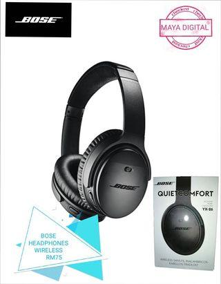 BOSE WIRELESS HEADPHONE