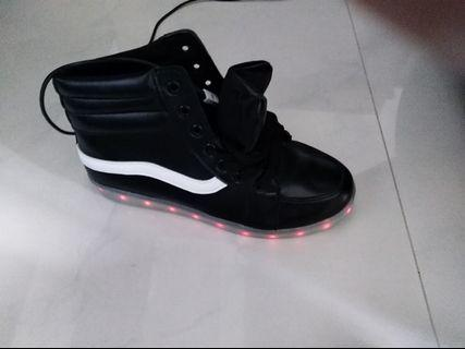 Bnib lighted shoes