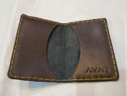 Card Holder dompet kartu kulit handmade