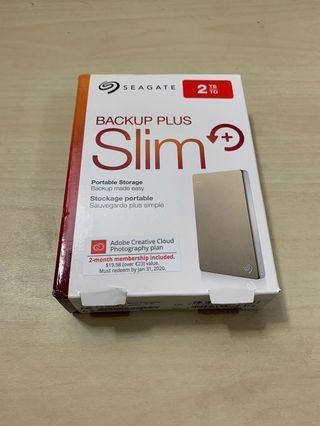 🚚 Seagate Backup Plus Slim 2TB