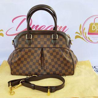 Authentic Louis Vuitton Trevi pm Damier Ebene