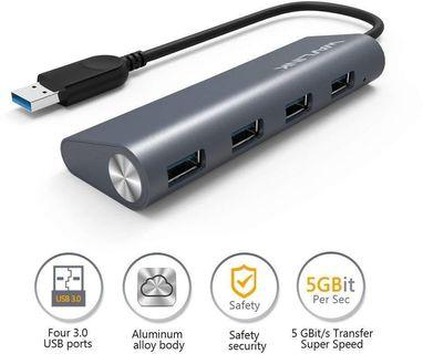 Wavlink USB 3.0 4-Port Aluminium Hub
