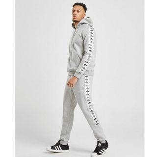 Authentic Adidas Originals Tape Fleece Pants Joggers L