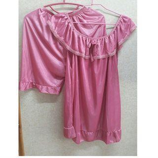 🚚 🔔現貨供應🔔韓版絲質兩件式睡衣套裝