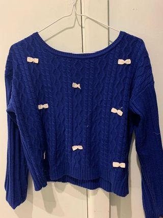 Myer - blue woollen size 8-10