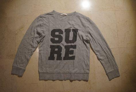 "H&M ""SURE"" SWEATER"