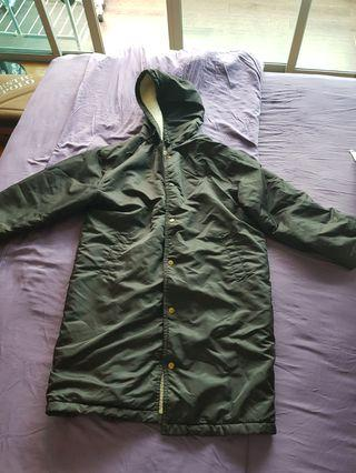 Preloved Winter Coat with hood for sale