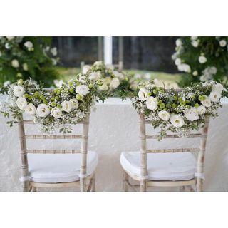 WEDDING SOLEMNISATION DECOR PACKAGE / VENUE DECORATIONS /HOTEL WEDDING FRESH FLOWERS VENUE DECOR / WEDDING TABLE CENTREPIECE