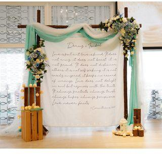 THE CHAPEL AT IMAGINARIUM WEDDING PACKAGE: CUSTOMIZABLE ROM / CHURCH WEDDING / HOTEL WEDDING FRESH FLOWERS VENUE DECOR / WEDDING TABLE CENTREPIECE