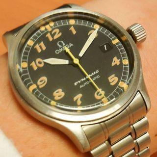 Omega Dynamic Pilot III - Automatic - 3rd Generation Millennium Watch