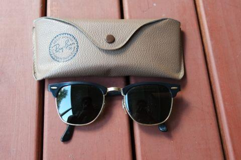 Ray Ban Bausch & Lombs Vintage B&L Clubmaster Made in USA