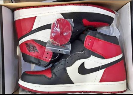 82a7a1b6233df1 Original Jordan 1 Retro High OG Bred Toe