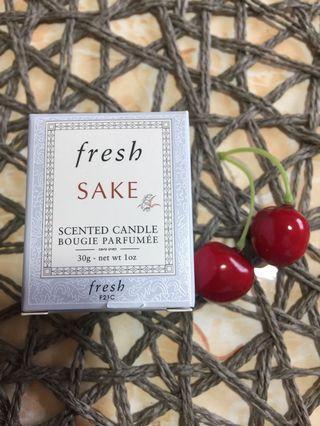Fresh Sake Scented Candle - 30g