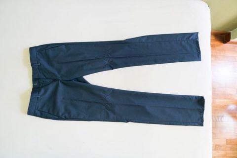 Topman Navy Blue Dress Pants