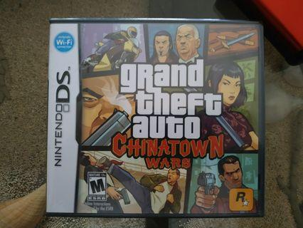 (NDS) Nintendo DS Game - GTA Chinatown Wars