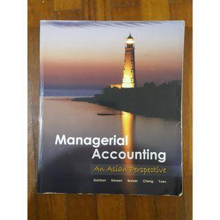 Managerial accounting : An Asian Perspective