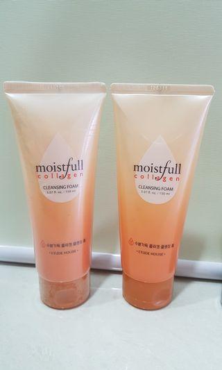Etude Moistfull collagen Cleansing Foam