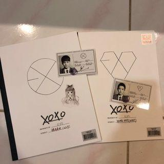 EXO XOXO Album (Hug & Kiss Version)