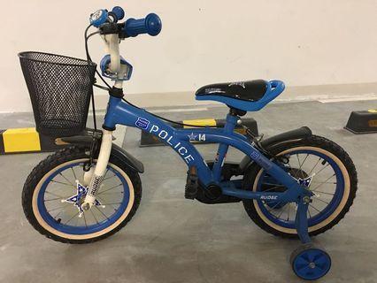 BMX Kids Police Bicycle