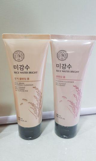The Face Shop rice water bright cleanser