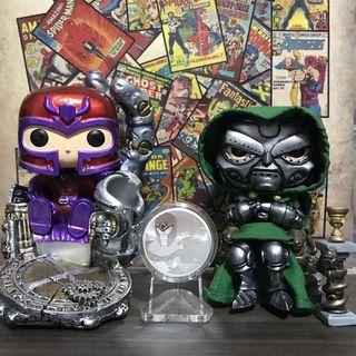 Custom Pop XM Magneto And SS Dr Doom