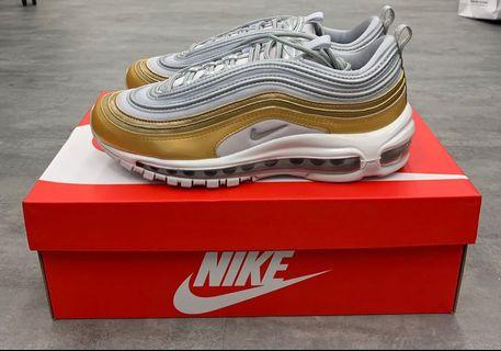 Nike Air Max 97 SE Silver and Gold