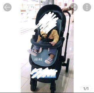 Stroller Baby Ellle Avenue Blue