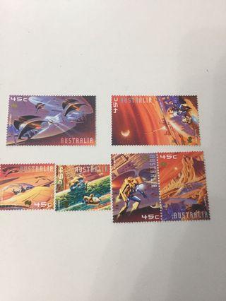 澳洲郵票—01