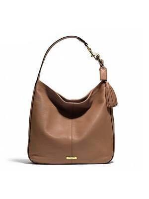 8f671fb158c5 Authentic Coach Avery Large Leather Hobo Bag