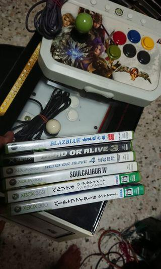 🚚 Xbox360 hori arcade stick many fighting games