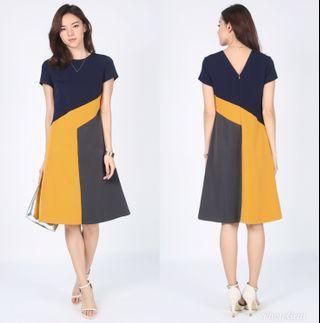 Lovebonito Dagna Contrast Dress