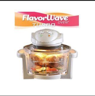FlavorWave Oven Turbo Halogen Convection Oven 12L
