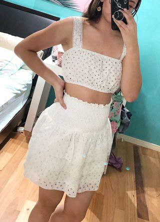 [NEW] Size S | Reverse Ruffle Skirt #SWAPAU