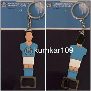 全新正貨 Manchester City Football Club 開瓶器鎖匙扣 _(歐洲購入)
