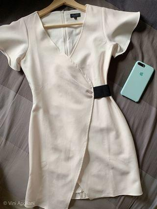 Zalora White Dress Size XS