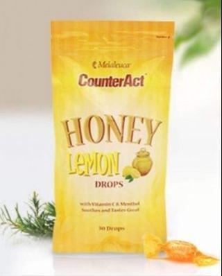 Melalueca CounterAct Honey Lemon Drops 60pcs (packs)