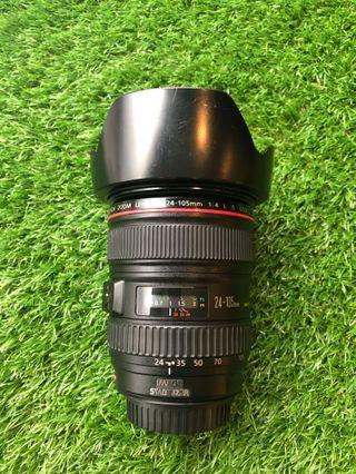 Canon 24-105mm F4L is