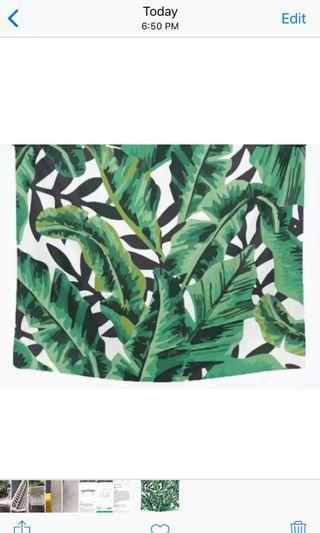 🚚 Botanical / Jungle Blankets /Table Cover/ Decoration