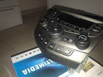Honda Accord 3.0 car stereo
