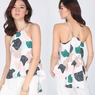 🚚 Love Bonito Abina Printed Camisole