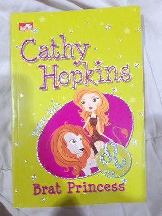 #BAPAU Novel Brat Princess (Zodiac Girls) by Cathy Hopkins