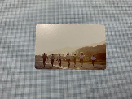 BTS Official Memories of 2016 YOUNG FOREVER Photocard