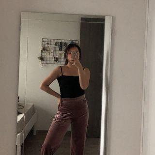 TEM Pink Highwaisted Pants