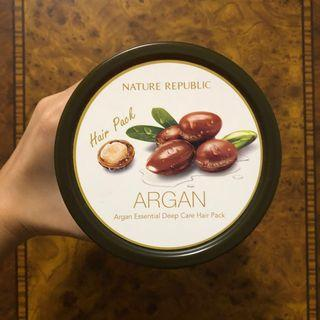 Nature Republic Argan Essential Deep Care Hair Pack 470ml