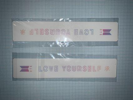 BTS Official LY: HER Pre-order Limited Bookmarks