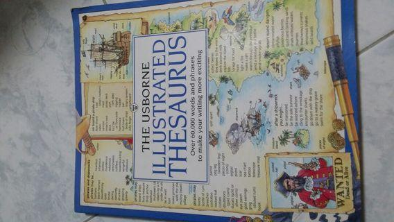 Thesaurus Illistrated Isborne ( word finder for P3 and above)