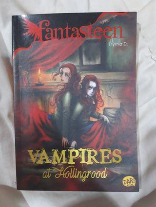 #BAPAU Novel fantasteen Vampires at Hollingrood
