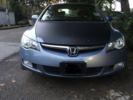 Honda civic 1.8(A)
