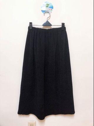 🚚 基本款黑寬褲